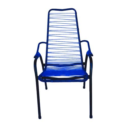 Cadeira de Área de Cordão Reforçada Parreira - Azul