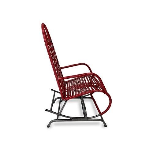 Cadeira de Área Vinholi Balanço Fio Duplo 2907.58 - Vermelho