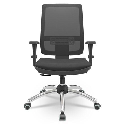 Cadeira de Escritório Plaxmetal Brizza Presidente - Preto
