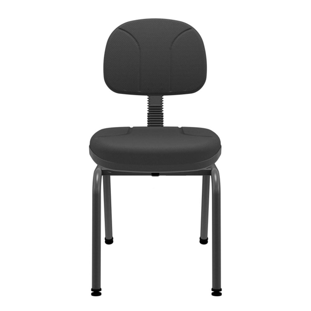 Cadeira de Escritório Plaxmetal Operativa Fixa Secretária - Preto