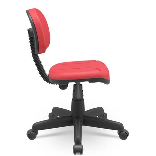 Cadeira de Escritório Plaxmetal Secretaria - Vermelho
