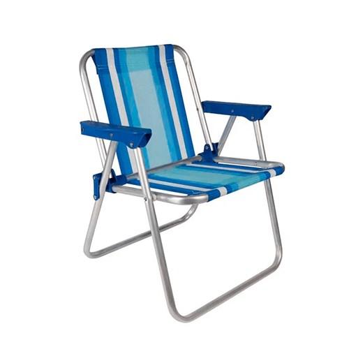 Cadeira de Praia Infantil Mor - até 30Kg Alumínio