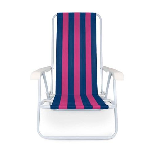 Cadeira De Praia Reclinavel - Mor 2004