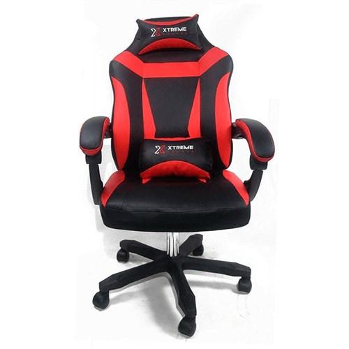 Cadeira Gamer Xtreme Reclinável Giratória - Preta / Vermelha