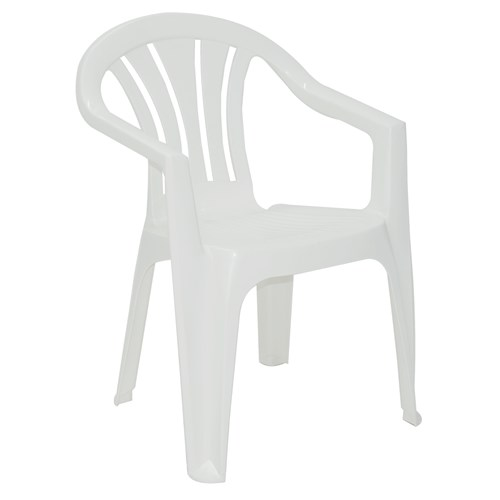 Cadeira Tramontina Bertioga - Branco em Polipropileno