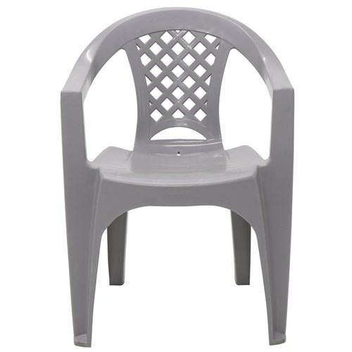 Cadeira Tramontina Iguape - Cinza