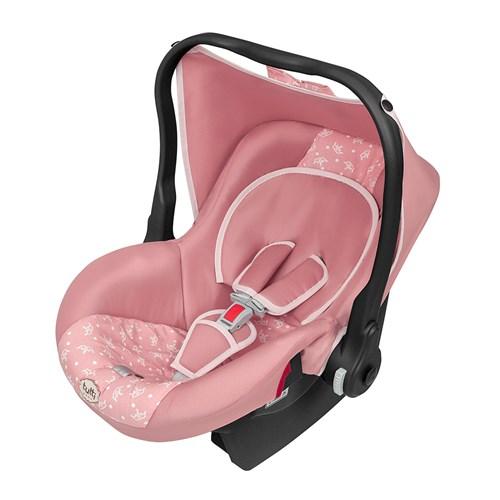 Cadeirinha para Auto Tutti Baby Bebê Conforto Nino - 4700 Rosa Coroa