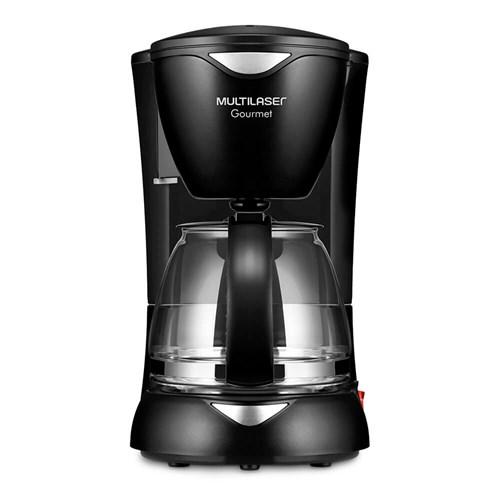 Cafeteira Elétrica Multilaser Gourmet BE01 - Preto 15 Xícaras 110v