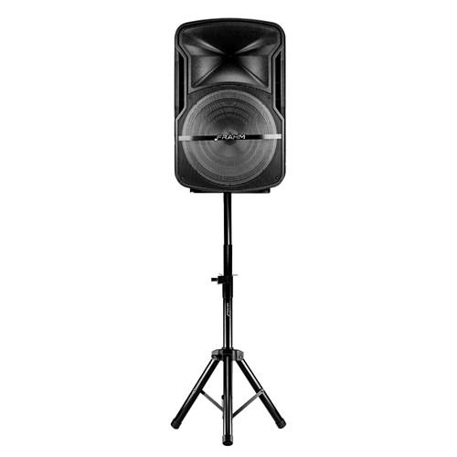 Caixa Amplificada Frahm CM15 500w - Com tripé e Microfone