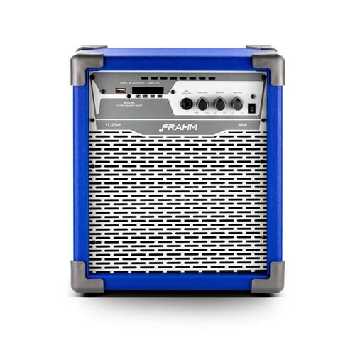 Caixa Amplificada Frahm LC250APP 100W-RMS Azul