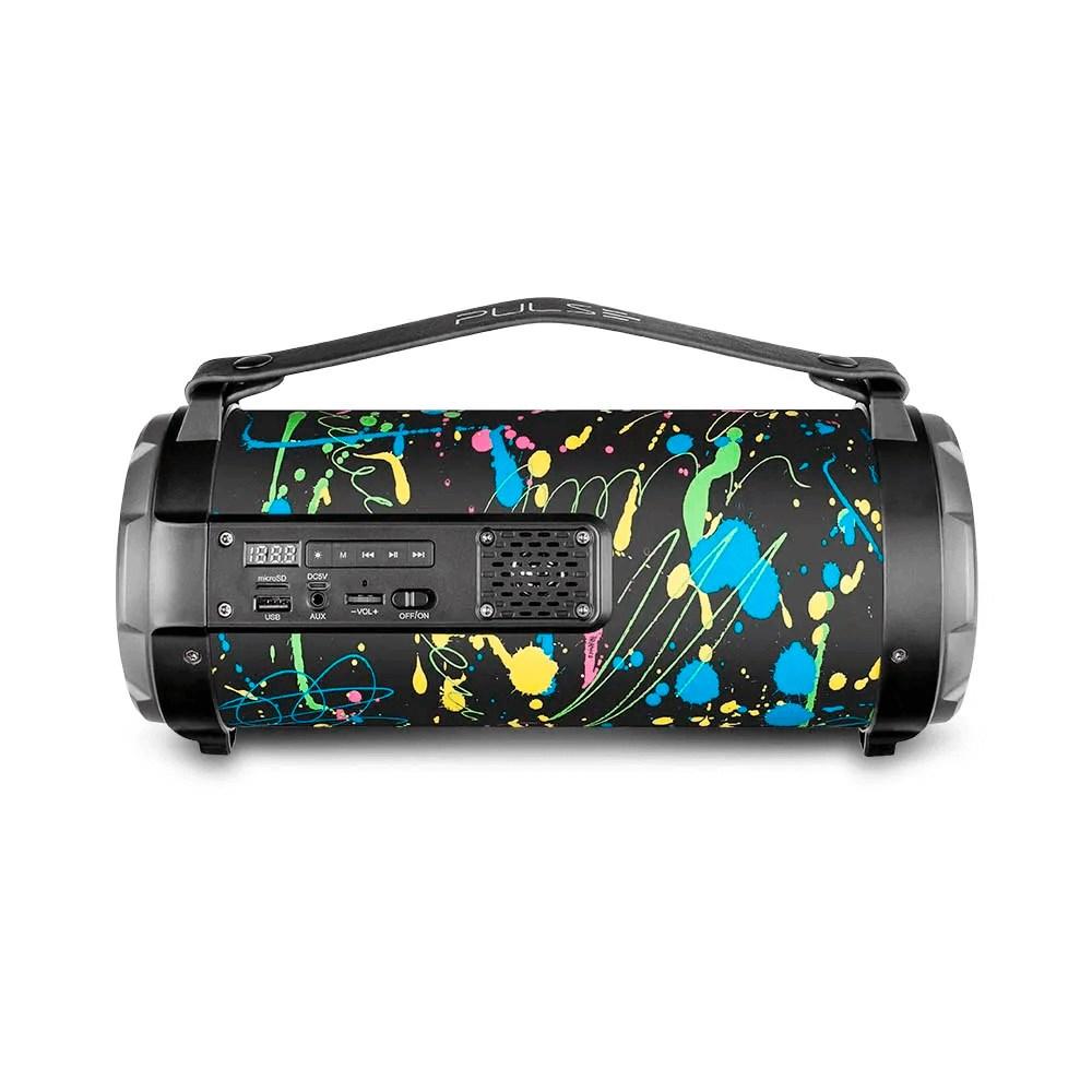 Caixa de Som Portátil Pulse Bazooka SP361 80W