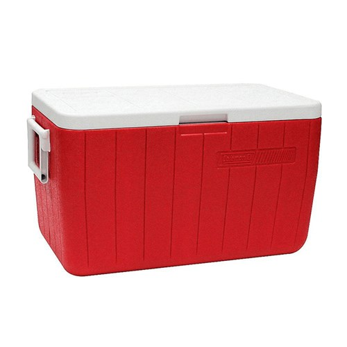 Caixa Térmica Coleman 8748 45,4L - Vermelha