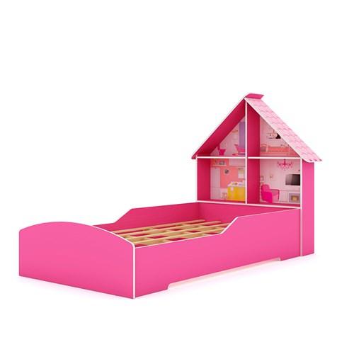 Cama Infantil Gelius Casinha - Pink Ploc