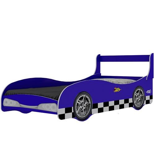 Cama Infantil Solteiro Gelius Rally - Azul