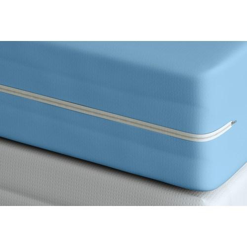 Capa Adomes para Colchão Solteiro - Azul