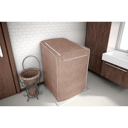 Capa Para Máquina De Lavar Roupas Adomes 12 à 16 Kg - Rato Fosco