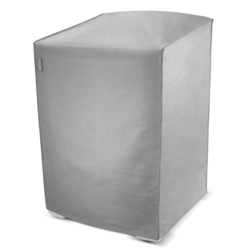 Capa Para Máquina De Lavar Roupas Electrolux 10 à 16 Kg - Cinza