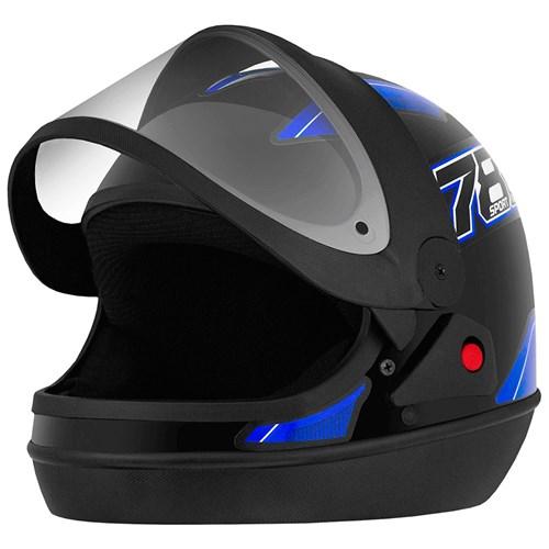 Capacete Pro Tork New Sport 788 - 58 Preto/Azul