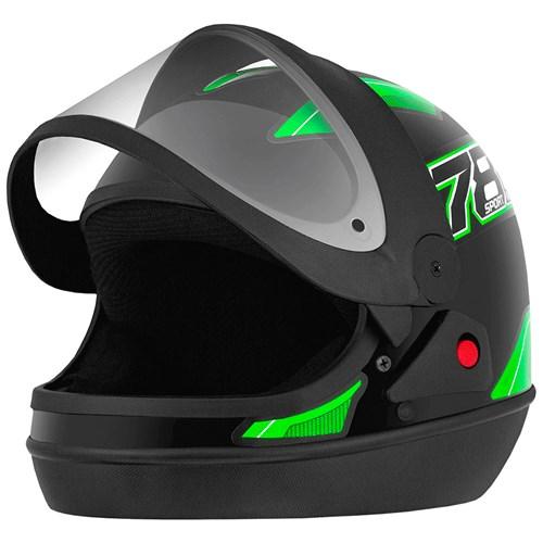 Capacete Pro Tork New Sport 788 - 58 Preto/Verde