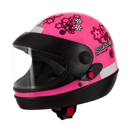 Capacete Pro Tork SM Girls 56 - Rosa