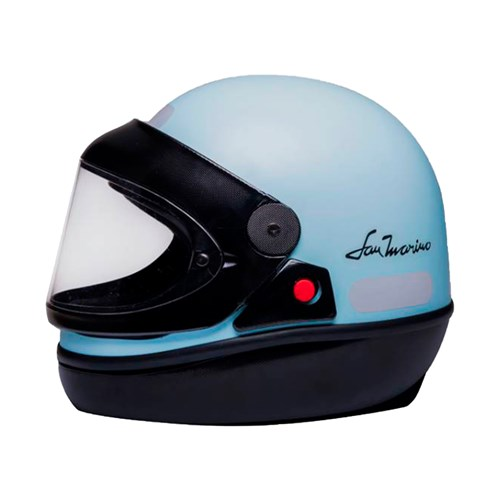 Capacete Tauros San Marino - 58 Colors Azul Claro