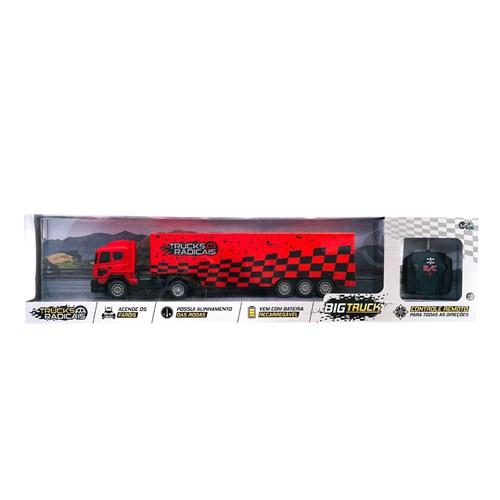 Carreta de Controle Remoto Unik Toys Tucks Radicais - BT2003-2
