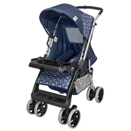 Carrinho de Bebê Tutti Baby Thor Plus 3900 - Azul 0 a 15kg