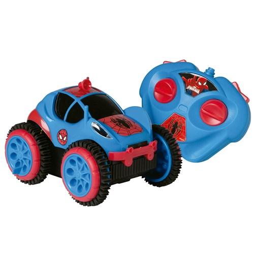 Carrinho de controle remoto Candide Spiderman Flip - 5851