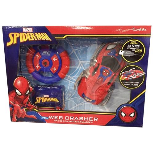 Carrinho de controle remoto Web Crasher - 5842