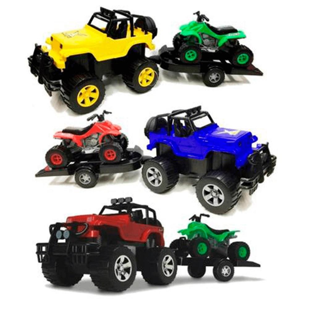 Carrinho Silmar Jeep X Terra - Fourtrax 6071