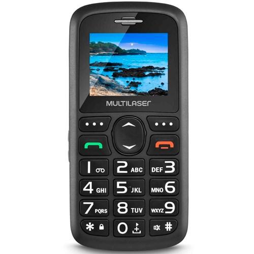 Celular Multilaser Vita 2 Chips - Câmera Integrada Rádio FM Bluetooth