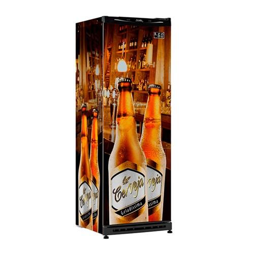 Cervejeira Esmaltec CV300R 348L - Frost Free Personalizada 110v