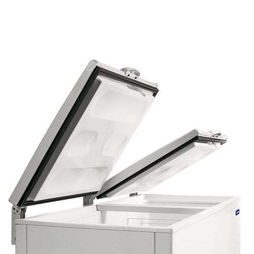 Congelador Metalfrio DA550 546L Branco - 2 Tampas Horizontal 110V