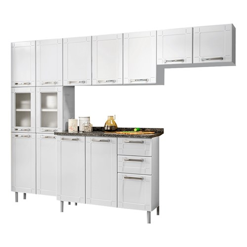 Cozinha CMZU-13590 Multipla Bertolini 4 Peças - Branco