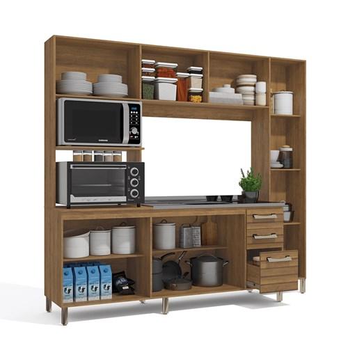 Cozinha Compacta E780 Kappesberg - Freijo/Off White