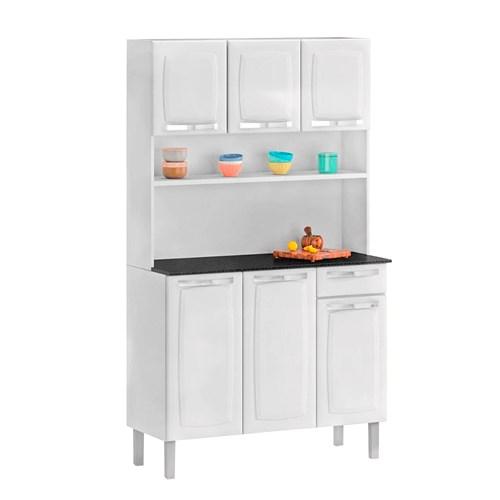 Cozinha Itatiaia 6 Portas Rose I3G1-105 - Branco