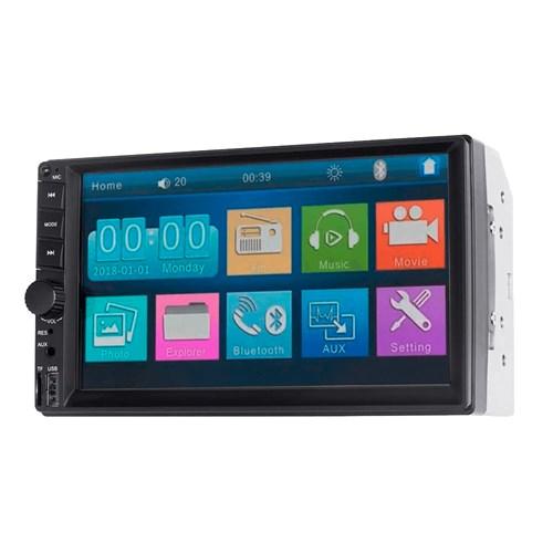 "DVD Automotivo Multilaser Evolve GP348 Bluetooth - Touch 7"" 4X35W RMS USB Auxiliar"