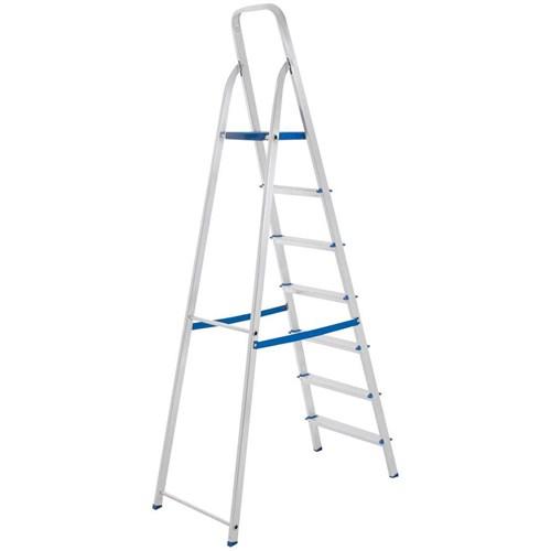 Escada Mor 7 Degraus Alumínio - 5105