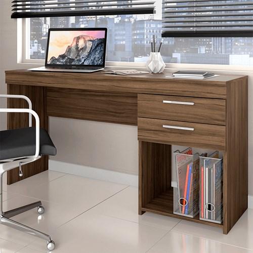 Escrivaninha Notavel Office 51015 - Nogal Trend 2 Gaveta