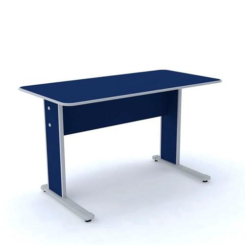 Escrivaninha Pandin MX-120 - Azul/Cinza 2 Gavetas