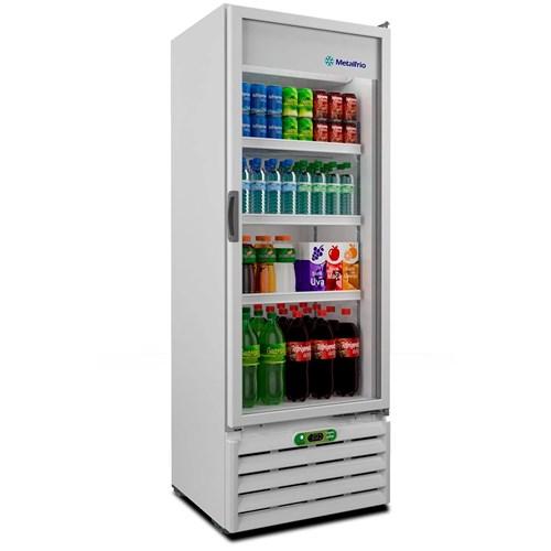 Expositor de Bebidas Metalfrio VB40R - 406L Branco 110v