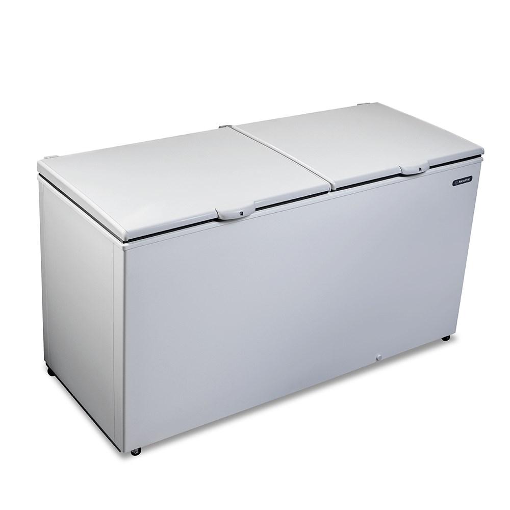 Freezer Metalfrio DA550 546L Branco - 2 Tampas Horizontal 110V