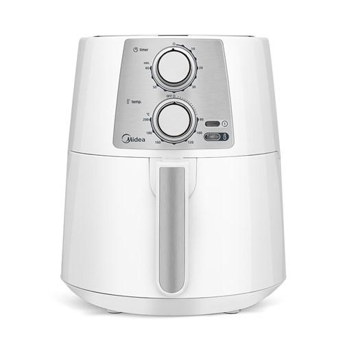 Fritadeira Elétrica sem Óleo/Air Fryer Midea 3.5L com Timer - Branca 110v
