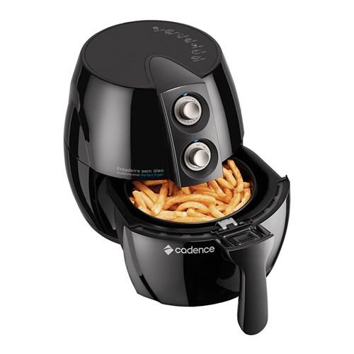 Fritadeira Elétrica sem Óleo Cadence Perfect Fryer FRT531 - Preto 2,3L com Timer 110v