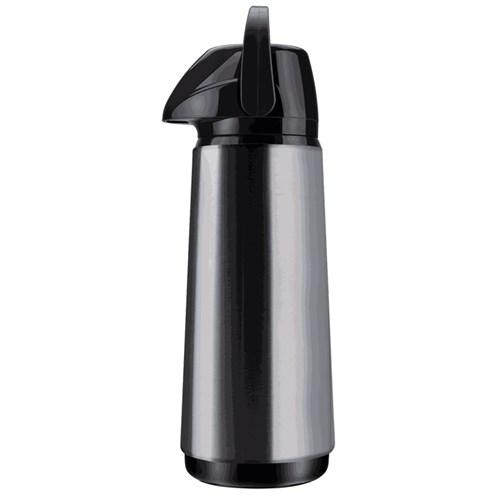 Garrafa Térmica Invicta Air Pot Slim New 1,80L - Inox/Preto
