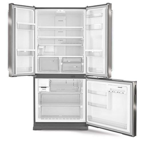 Geladeira/Refrigerador Brastemp Frost Free 3 Portas - 540L BRO80AK Evox 110v