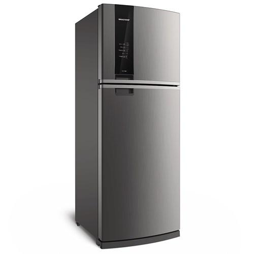 Geladeira/Refrigerador Brastemp Frost Free Duplex - 462L BRM56AK Evox 110v