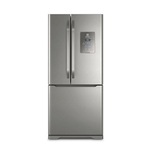 Geladeira/Refrigerador Electrolux Frost Free 3 Portas - 579L DM84X Inox 110v