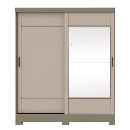 Guarda-roupa 02 Portas Briz B74 - Duna / Cristal B74-35