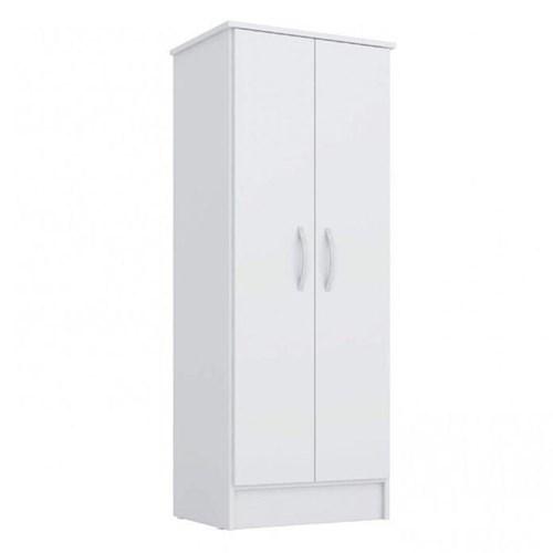 Guarda-roupa 02 Portas Demobile Viena Multiuso - Branco